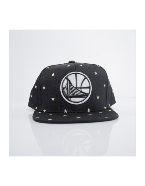 "Mitchell & Ness Golden State Warriors ""Starry Night"" Snapback"