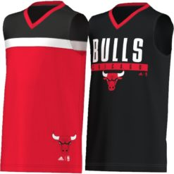 "adidas Youth Chicago ""Bulls"" Reversible Shirt"