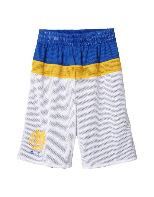 adidas Youth Golden State ''Warriors'' Reversible Shorts