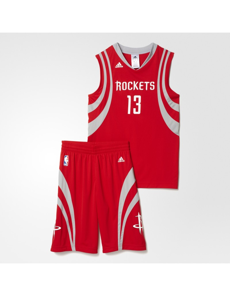 quality design 5113f ca0d7 adidas James Harden Houston Rockets Mini Kit | Pro Basketball