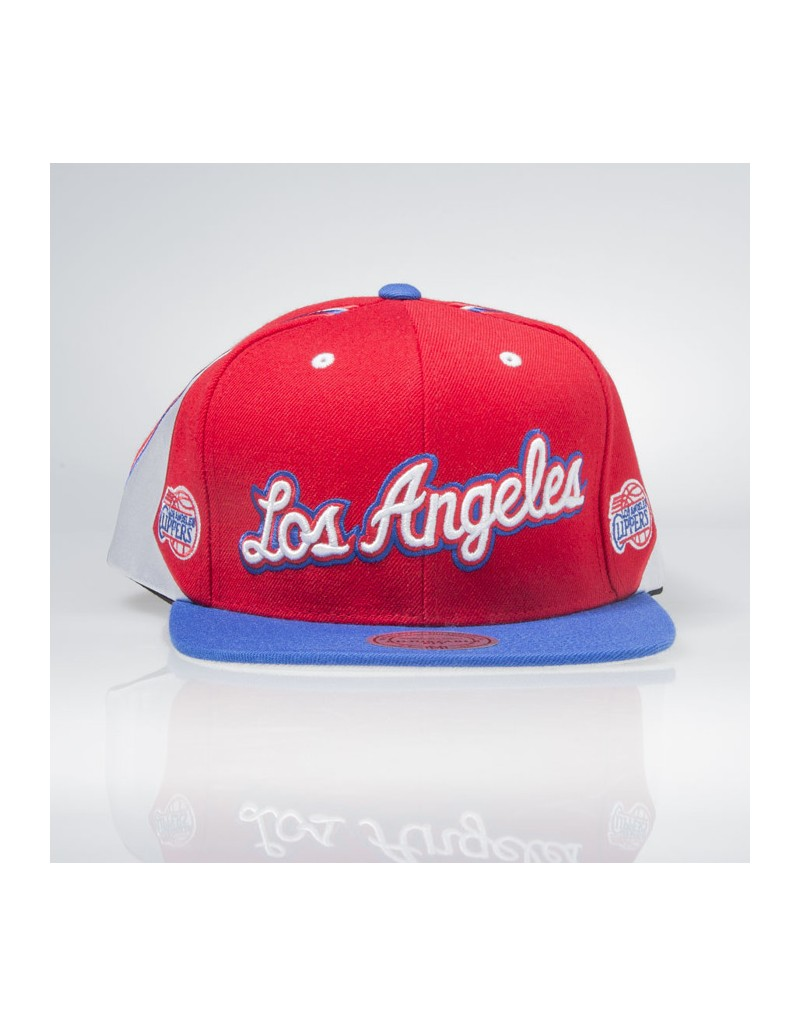 Mitchell   Ness Los Angeles Clippers Snapback  84293ff73c2d