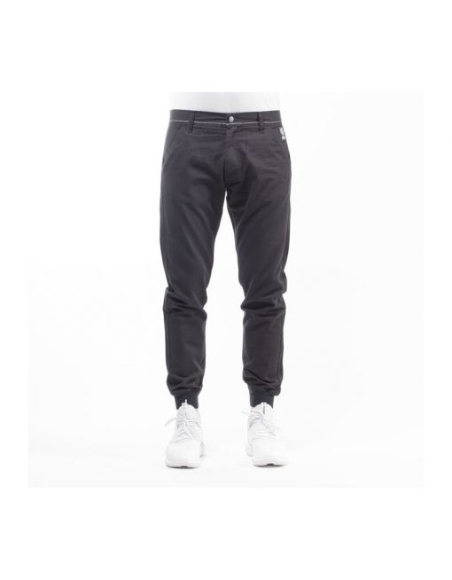 Mass Denim jogger pants chino Classics sneaker fit black