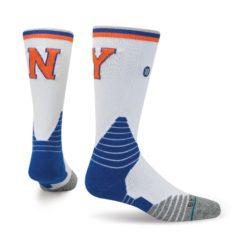 Stance NBA Oncourt Knicks Core Crew White