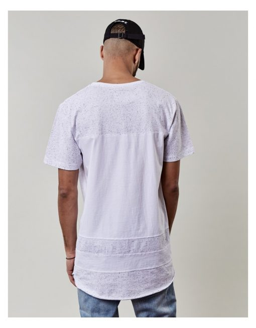 Cayler & Sons Horizon Scallop Tee white
