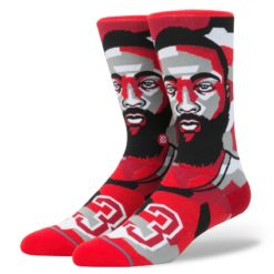 Stance NBA Future Legends Mosaic Harden Red socks