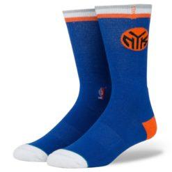 Stance NBA Arena Knicks Logo Blue socks