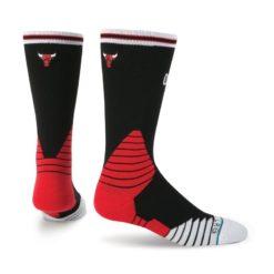 Stance Oncourt Logo Crew Bulls Black socks