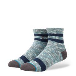 Stance Uncommon Solids Mission Low Aqua socks
