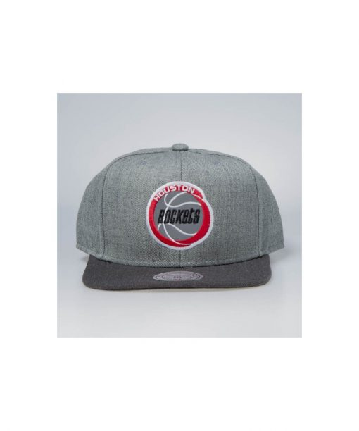 Mitchell & Ness snapback Houston Rockets grey
