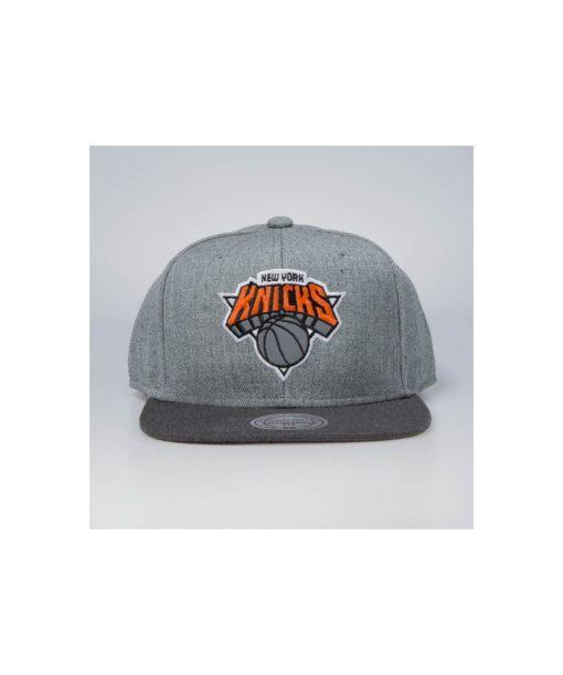 Mitchell & Ness snapback New York Knicks grey