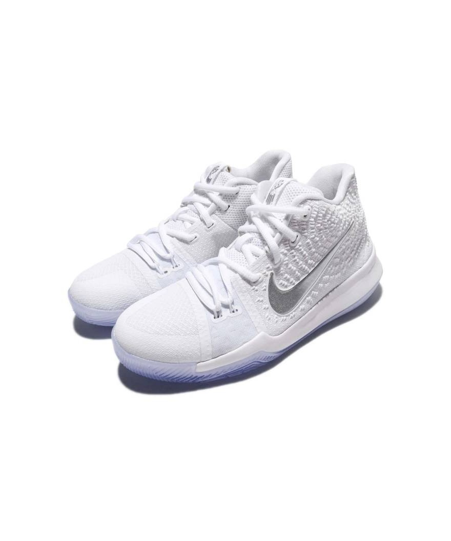 "the best attitude 6f73f b5bcc Nike Kyrie 3 ""White Chrome"" GS"
