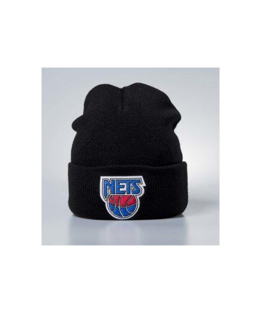 Mitchell & Ness winter beanie New Jersey Nets black Team Logo Cuff