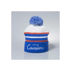 Mitchell & Ness winter beanie Cleveland Cavaliers white/blue Colour Block