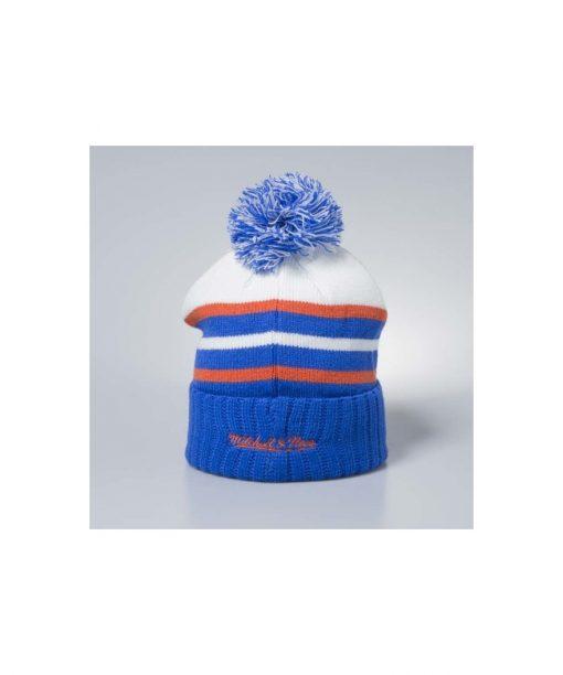 Mitchell & Ness winter beanie Cleveland Cavaliers white/blue Colour Block