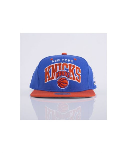 Mitchell & Ness cap snapback New York Knicks royal Team Arch