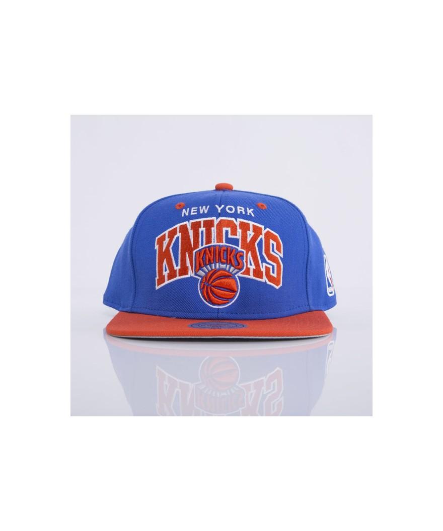 a6ac90f9f6697 Mitchell & Ness cap snapback New York Knicks royal Team Arch | Pro ...