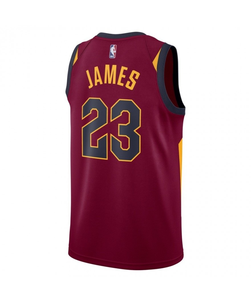 buy online a79b1 9899f Nike NBA LeBron James Cleveland Cavaliers Icon Swingman Jersey