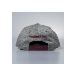Cap Mitchell & Ness snapback Cleveland Cavaliers grey / burgundy Brushed Melange