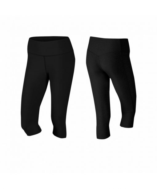 Womens Capri pants black