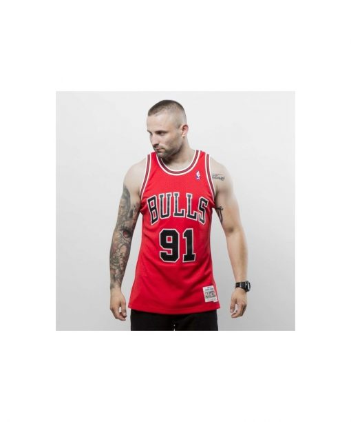 Mitchell & Ness Chicago Bulls - Denis Rodman red Swingman Jersey