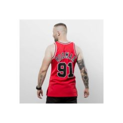 Mitchell & Ness Chicago Bulls - Denis Rodman red Swingman Jersey