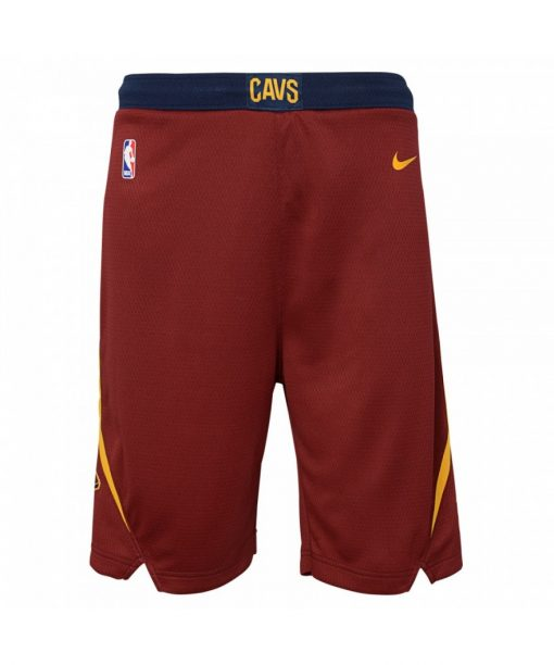 Nike NBA Clevland Cavaliers Boys Swingman Shorts