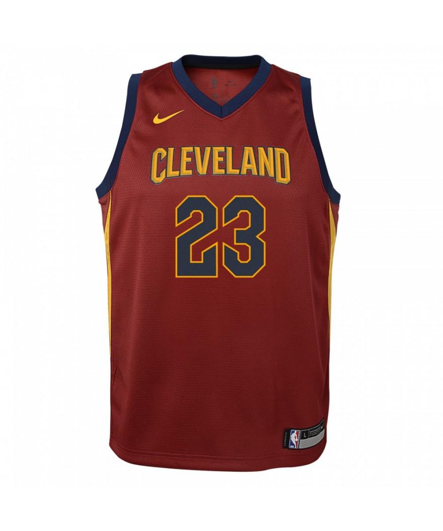 ef2a9523fc50 Nike Dry Cleveland Cavaliers Lebron James Boys Swingman Jearsy | Pro ...