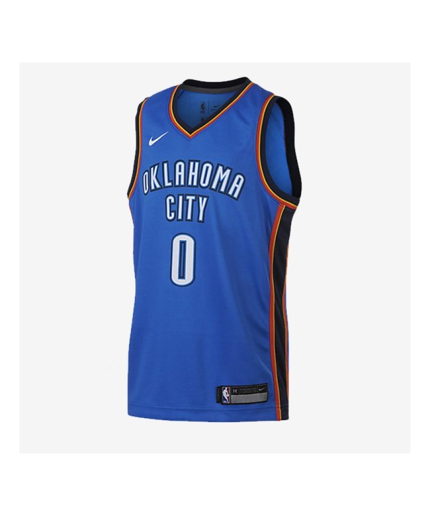 quality design 89dda dd485 Nike Dry Oklahoma City Thunder Russell Westbrook Boys Swingman Jersey