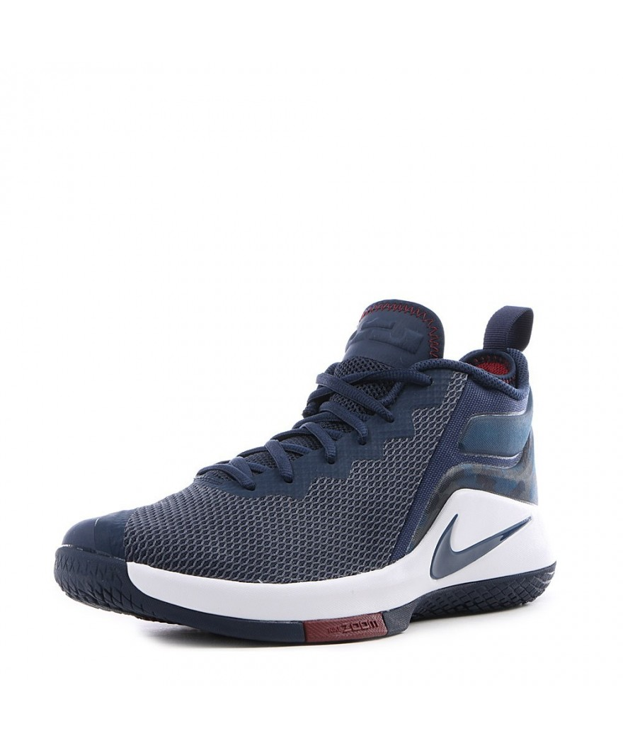 the latest 999d7 59567 Nike Zoom LeBron Witness 2 Navy