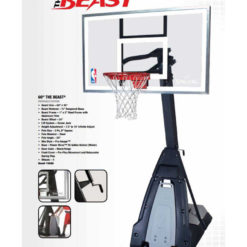 Spalding The Beast Portable 60 basketball Hoop