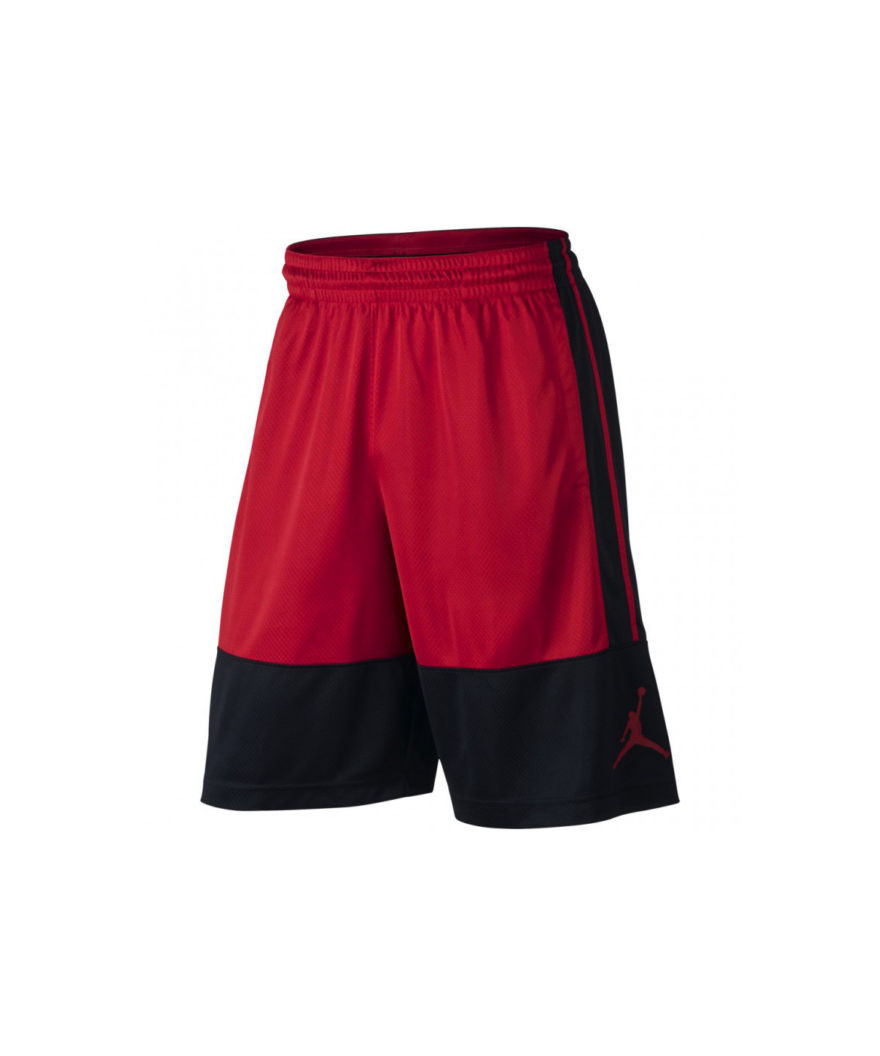 15b9f96214b Jordan Rise Solid Shorts men Black Red | Pro Basketball