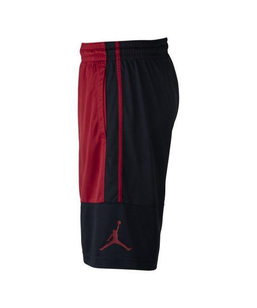 Jordan Rise Solid Shorts men Black Red