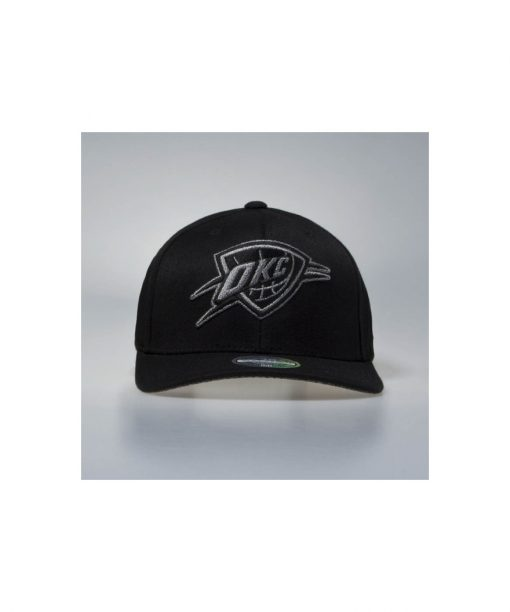 Mitchell & Ness snapback cap Oklahoma City Thunder black Melange Logo 110 SB