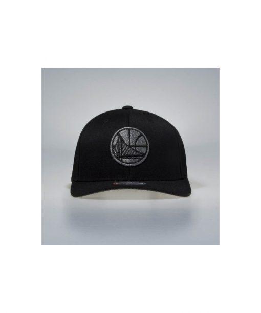 Mitchell & Ness snapback cap Golden State Warriors black Melange Logo 110 SB