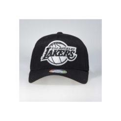 Mitchell & Ness snapback Los Angeles Lakers Black & White Flexfit 110