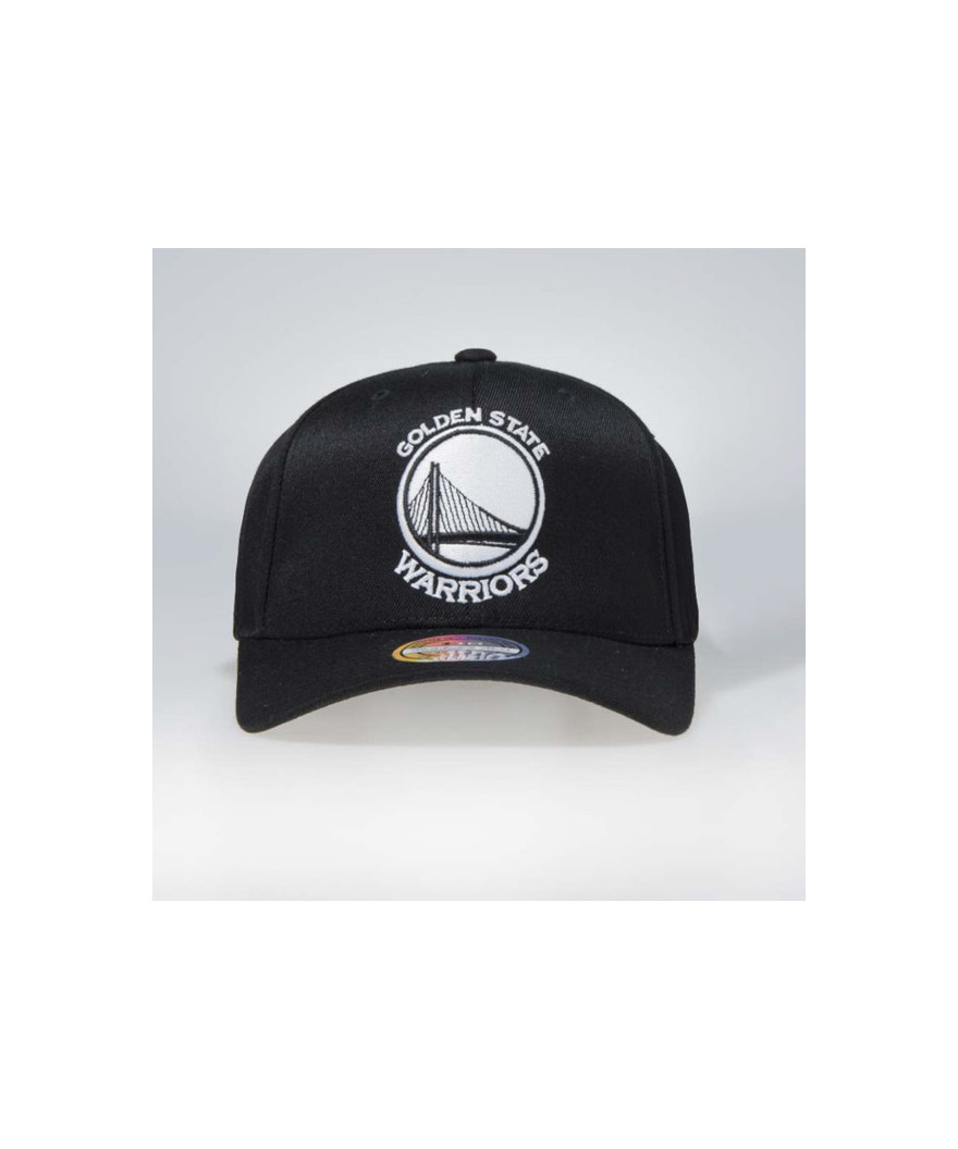 huge selection of d7fc0 67ae7 Mitchell   Ness snapback Golden State Warriors Black   White Flexfit 110