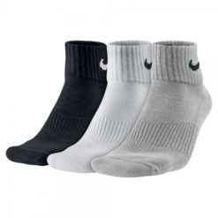 Nike Cotton Cushion Quarter Socks (3 Pair)
