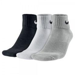 Nike Cotton Cushion Quarter Socks (3 Pair)
