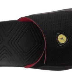 57206a83a1e Jordan Hydro 7 Slide Black Varsity Red | Pro Basketball