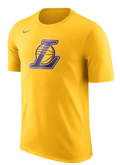 ab75474c Los Angeles Lakers Nike Dry Logo Men's NBA T-Shirt | Pro Basketball