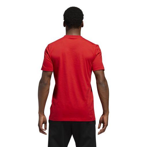 adidas Dame Logo Tee - Red