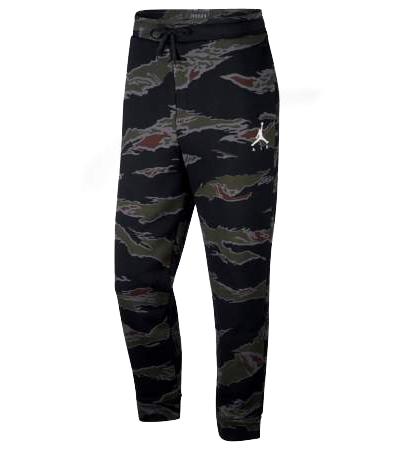 56673c0a11a Jordan Jumpman Men's Camo Fleece Trousers   Pro Basketball