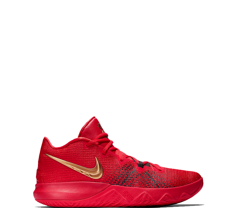 "e0f98ee83cda Nike Kyrie Flytrap ""University Red Metallic Gold"""