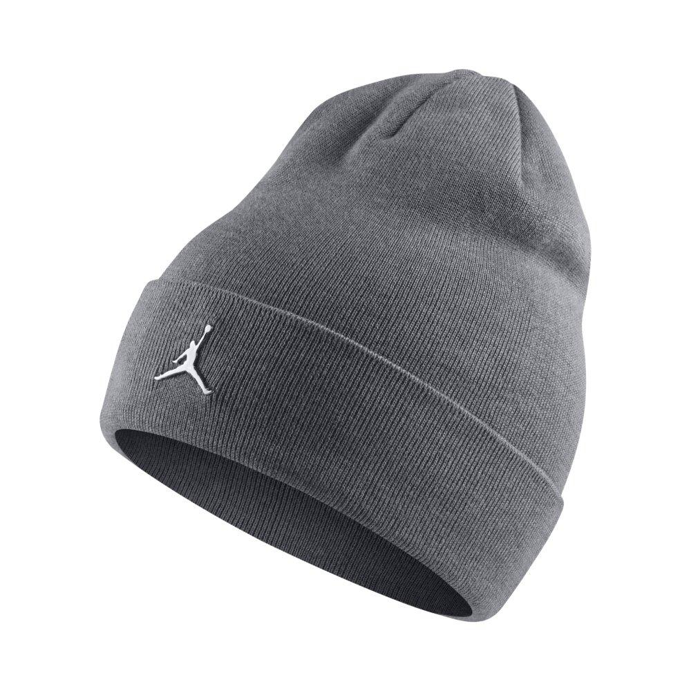 0d906f98dc Jordan Beanie Cuffed Grey | Pro Basketball