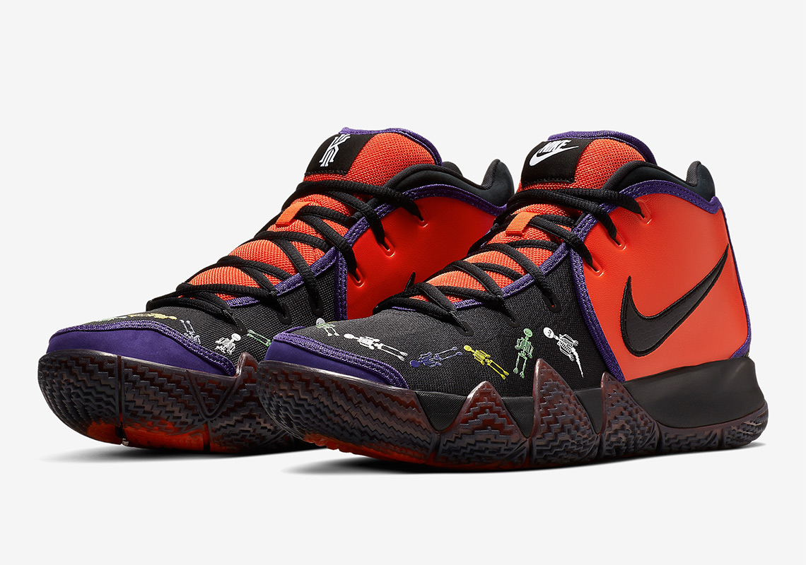 """cd4ca7f70a82 Nike Kyrie 4 """"Day of the Dead"""""""
