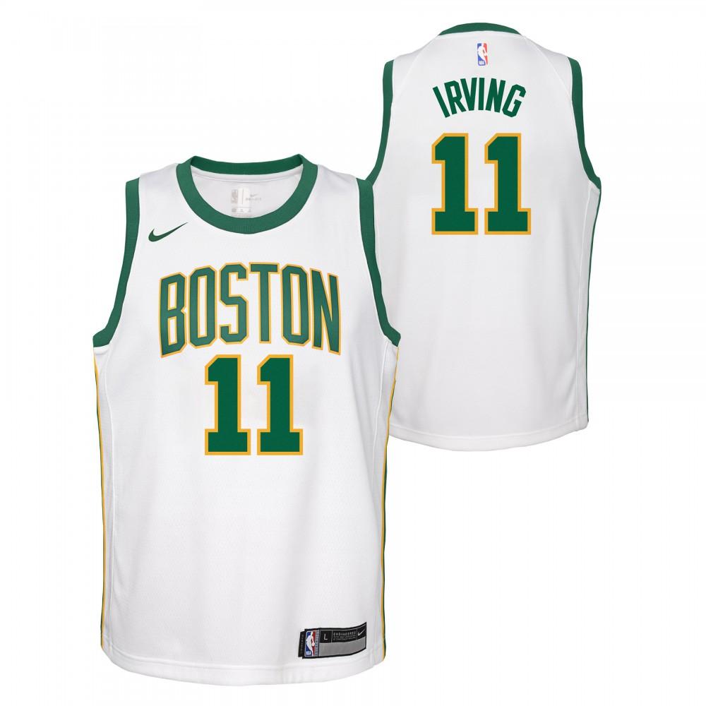 new concept 20aae c2ee2 Kyrie Irving City Edition NBA Swingman Jersey Junior