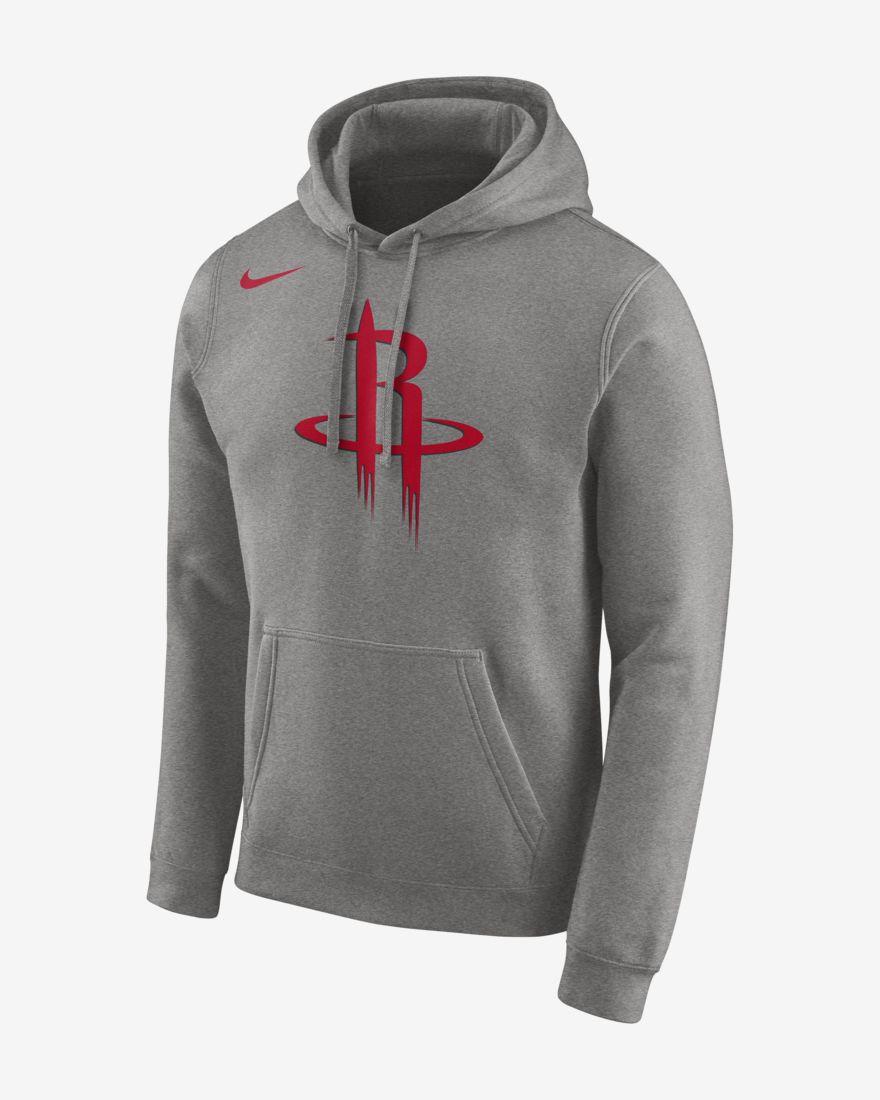 Nike Houston Rockets NBA Logo Hoodie | Pro Basketball