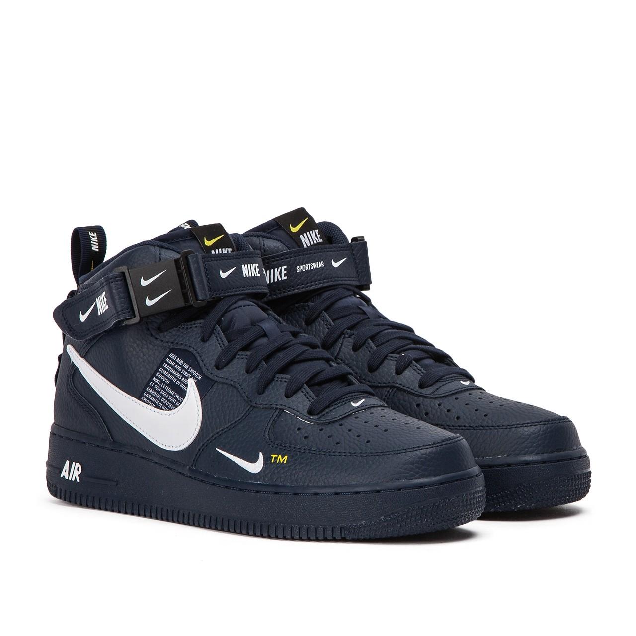 cba43265e43 Nike Air Force 1 Mid '07 Utility Navy | Pro Basketball