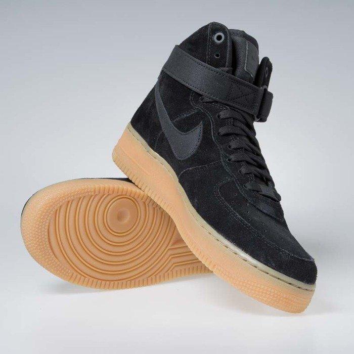 Nike Air Force 1 High 07 LV8 Suede Black Gum AA1118 001