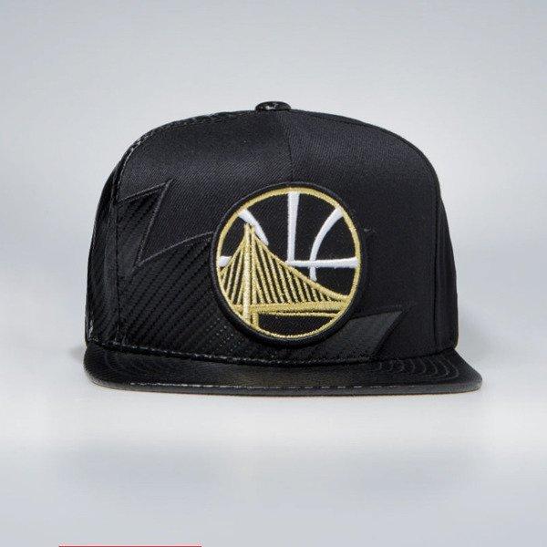 1c04fb191a0582 Mitchell & Ness Golden State Warriors Snapback Cap black NBA Kevlar ...